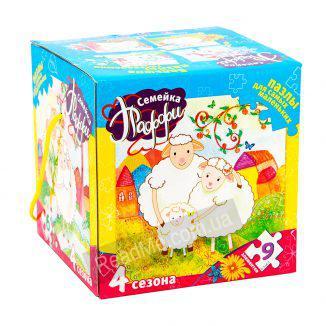 Пазли для малюків Сімейка Паффі 2+ купити гру в інтернет-магазині ReadMe