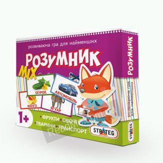 Гра для малюків Розумник: MIX 1+ купити гру в інтернет-магазині ReadMe