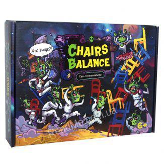 Гра головоломка Chairs Balance 6+ купити гру в інтернет-магазині ReadMe