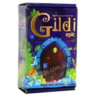 Настольная карточная игра Gildi Epic 3+