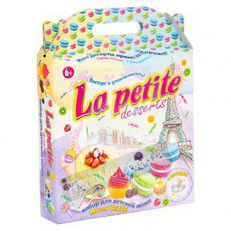 Набор для детской лепки La petite desserts 6+ (большой) купить игру в интернет-магазине ReadMe