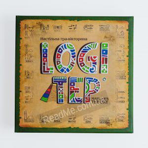 Настільна гра вікторина Logi tep 12+ - купити гру в інтернет-магазині ReadMe