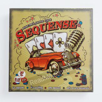 Настільна гра стратегія Sequense 15+ купити гру в інтернет-магазині ReadMe