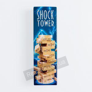 Настольная игра Дженга Shock Tower - купить игру в интернет-магазине ReadMe