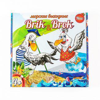 Настольная игра Морские выходные Brik and Brok 4+ купить игру в интернет-магазине ReadMe