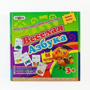 Пазлы: Веселая азбука 3+купить игру в интернет-магазине ReadMe