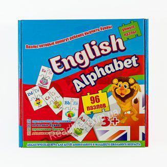 Пазли: English alphabet (Англійський алфавіт) - купити гру в інтернет-магазині ReadMe