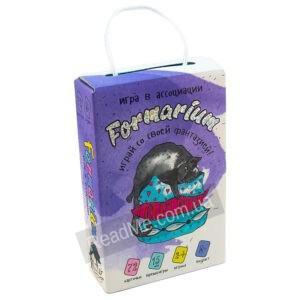 Карточная игра на ассоциации Formarium 8+ - купить игру в интернет-магазине ReadMe