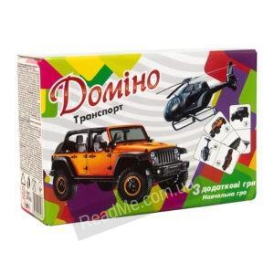 """Домино """"Транспорт"""""""
