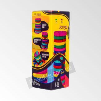 Настольная игра Дженга Colors Jenga - купит ь онлайн