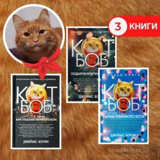 Комплект Вуличний кіт на ім'я Боб